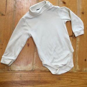 Children's Place Turtleneck Bodysuit Ivory 24M